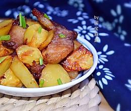 空气炸锅版蚝油土豆肉片的做法