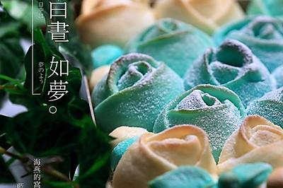蓝色妖姬#东菱魔法云面包机#