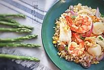 泰式海鲜炒饭的做法
