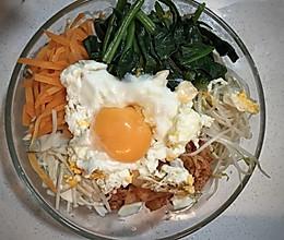 韩国泡菜拌饭的做法