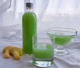 夏花特饮#凉瓜柠檬姜汁