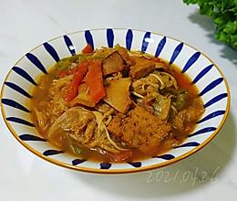 酸辣白菜菇肉汤的做法