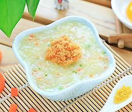 什锦蛋黄粥的做法