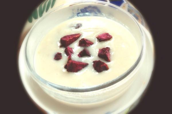 牛奶燕麦紫薯羹的做法