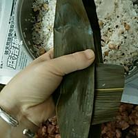 广式粽子的包法的做法图解10