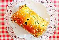 超赞的汤种肉松面包卷#甜蜜厨神#的做法