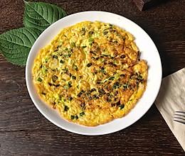 #童年不同样,美食有花样#银鱼煎蛋的做法