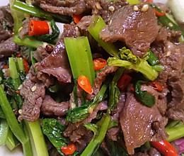 小米椒炒牛肉的做法