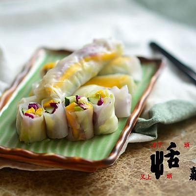 鮮蔬米紙卷