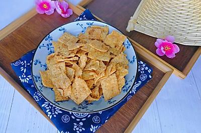 嘎嘣脆的小米锅巴(两种口味)