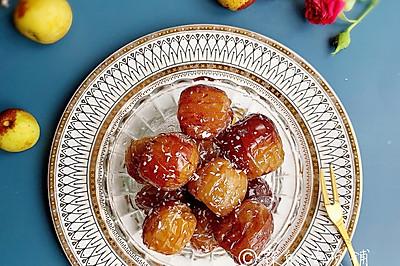 一颗甜到心底的 用冬枣做的蜜枣