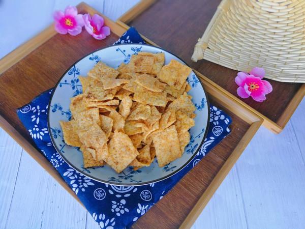 嘎嘣脆的小米锅巴(两种口味)的做法