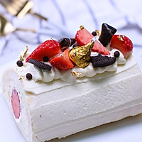 白玉草莓卷丨岂止少女才懂的浪漫