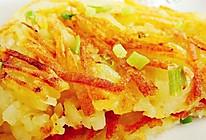 葱香土豆烙的做法