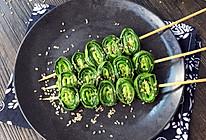 芝香烤韭菜~在家也能做出烧烤的味道的做法