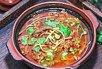 火锅底料煮肥牛卷的做法