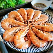 #吃货打卡季#白灼虾不加一滴水,原汁原味,肉质鲜嫩