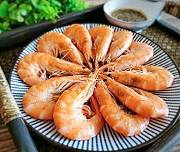 #吃货打卡季#白灼虾不加一滴水,原汁原味,肉质鲜嫩的做法