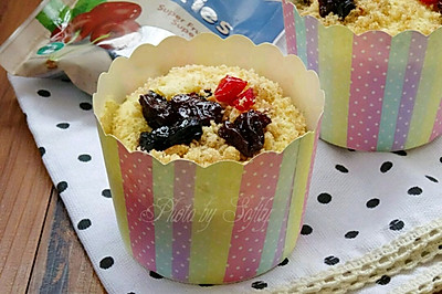 金宝干果海绵纸杯蛋糕