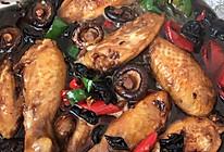 香菇炖鸡翅的做法