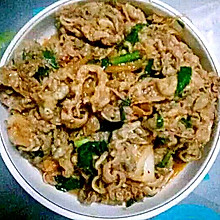 韩式炒肥牛