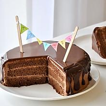 滴落巧克力蛋糕 风靡欧美