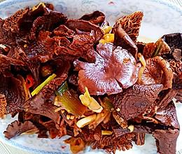 #下饭红烧菜#红烧野生榛蘑的做法