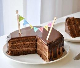 滴落巧克力蛋糕 风靡欧美的做法