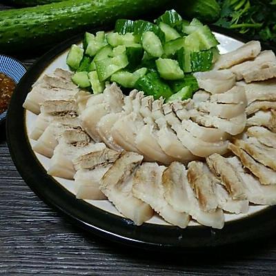 东北特色菜!蒜泥白肉