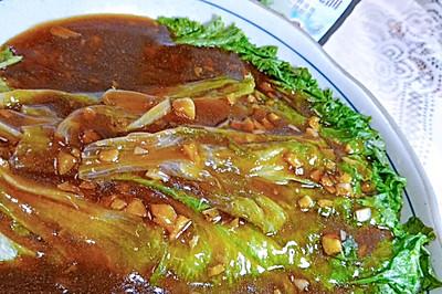 快手的蚝油生菜