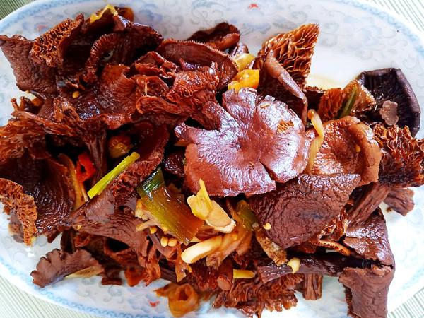 红烧野生榛蘑的做法