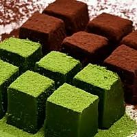 抹茶生巧克力&原味生巧克力的做法图解8