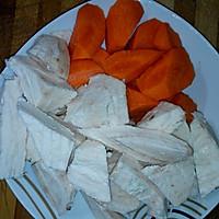 清热靓汤:红萝卜粉葛猪骨汤的做法图解3