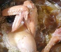 超简单超滋补的炖母鸡汤的做法