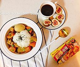 #百梦多圆梦季#南瓜咖喱蛋盖饭的做法