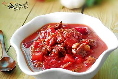 甜菜根牛腩果蔬汤