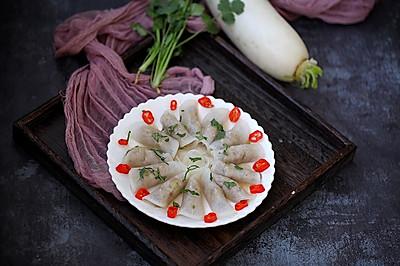 白萝卜肉卷