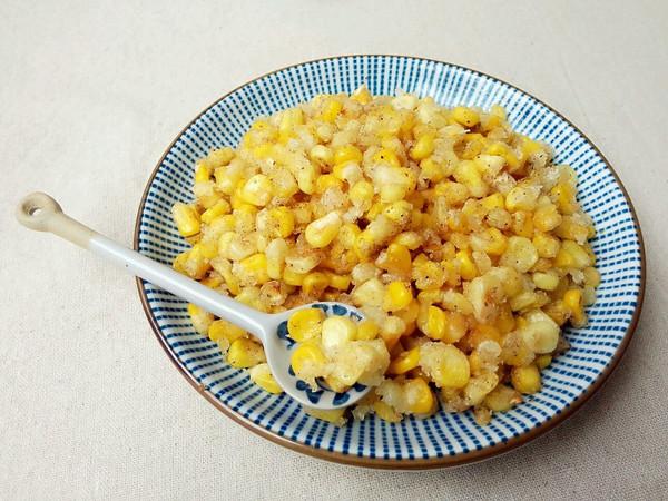 椒盐玉米粒——附切玉米棒和制作小技巧的做法