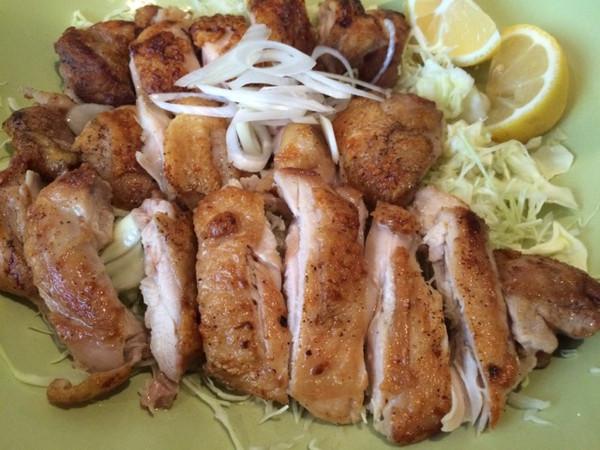 日式炭烧鸡腿肉的做法