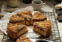 【凤梨椰子脆片乳酪蛋糕】福田淳子的做法