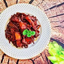 #秋天怎么吃#萝卜干红烧肉