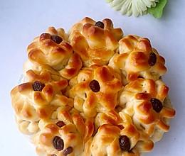 菊花面包的做法