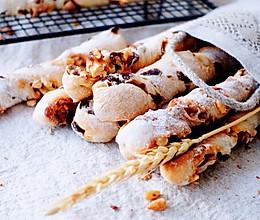 葡萄干坚果面包棒的做法