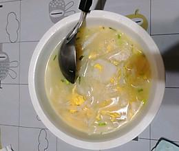 干贝鸡蛋萝卜汤的做法