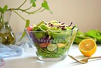轻脂减肥果蔬沙拉#春季食材大比拼#的做法