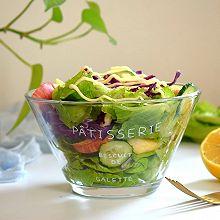 轻脂减肥果蔬沙拉#春季食材大比拼#