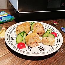 芝士糯米鸡肉卷