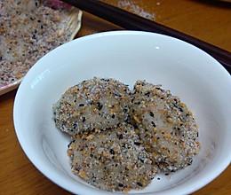 手打香甜糯米糍粑的做法