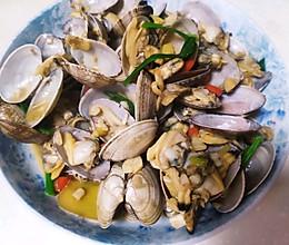 爆炒蛤蜊的做法