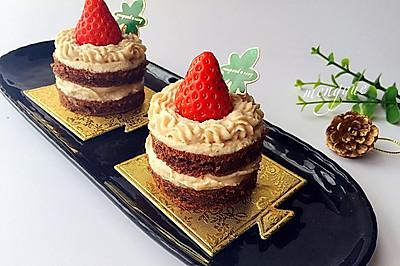 圣诞蛋糕之法式蒙布朗蛋糕